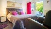 Een mooie kamer van Panorama Sousberg met terras
